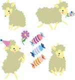 маленькие овцы Стоковые Фотографии RF