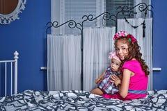 маленькие сестры Стоковая Фотография