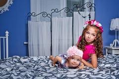 маленькие сестры Стоковая Фотография RF