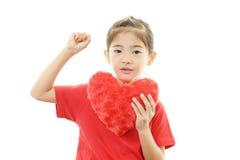 Маленький азиатский изучать девушки Стоковые Фото