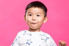 Маленький азиатский ребенк Стоковые Изображения