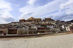 Маленький дворец Potala стоковая фотография rf
