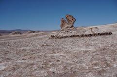 Маленький город в зоне Atacama Чили Стоковое Изображение RF