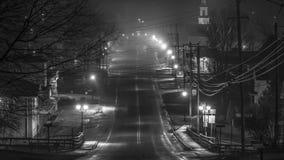 Маленький город США Маркела Нью-Йорка Стоковые Изображения RF