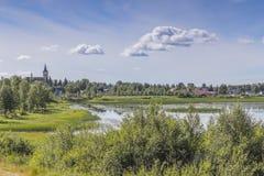Маленький город Стоковые Фотографии RF