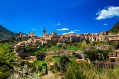 Маленький город Valldemossa Стоковое фото RF