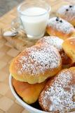 Маленький завтрак бриошей стоковая фотография rf