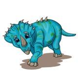 Маленький динозавр младенца Стоковые Фотографии RF