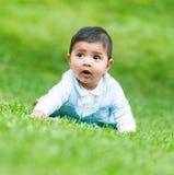 Маленький испанский мальчик стоковое фото