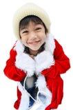 Маленький мальчик santa Стоковое Фото