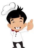 Маленький молодой шеф-повар Стоковые Изображения RF