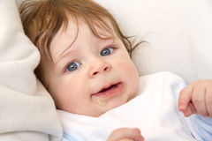 Маленький младенец Стоковое Изображение RF