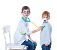 Маленький доктор. Стоковые Изображения RF