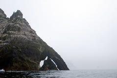 Маленький остров Skellig Майкл на Атлантическом океане Стоковая Фотография