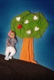 Маленький принц крадя сердце Стоковое фото RF