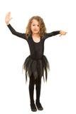 Маленький работать девушки танцора Стоковая Фотография