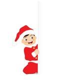 Маленький Санта Клаус Стоковая Фотография RF
