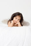 Маленький смешной ангел купидона Стоковые Фотографии RF