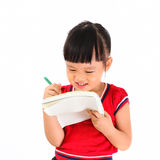 маленький студент стоковая фотография rf