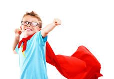 Маленький супергерой стоковые изображения