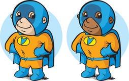 Маленький супергерой Стоковые Фотографии RF