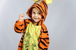 маленький тигр Стоковое Изображение