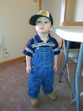 Маленький человек Стоковое Фото