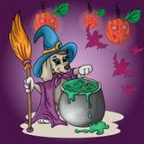Маленький щенок witching Стоковая Фотография RF