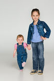 2 маленьких дет совместно Стоковое фото RF