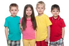 4 маленьких друз Стоковые Фото