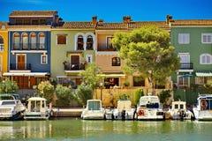 Маленькое Венеция в Испании Стоковое Изображение RF