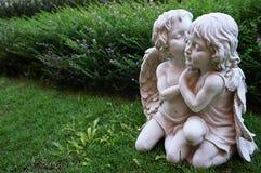 Маленькое изображение ангела купидона Стоковое фото RF