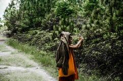 Маленькое монах Стоковая Фотография RF