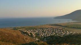 Малое взгляд сверху деревни Стоковые Изображения RF