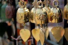 Малое золото колокола Стоковые Изображения RF