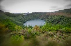 Малое озеро кратера Стоковое фото RF