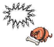 Малое сало dog-100 иллюстрация штока
