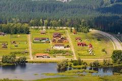 Малое село Стоковые Фото