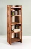 Малое slatted деревянное etagere Стоковые Изображения RF