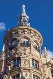 Мадрид, Испания/красивое историческое здание, старая архитектура стоковые изображения rf