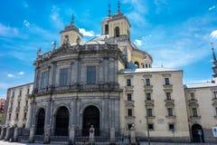 Мадрид, Испания - 17-ое июня: Базилика Сан-Франциско el большая, m Стоковая Фотография