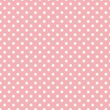 Малые белые точки польки на пастельном свете - пинке стоковое фото
