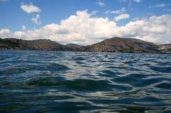 Малые волны на воде! Стоковое фото RF