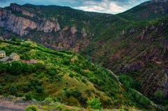 Малые деревни области Чёрного моря Анатолии, Турции Стоковая Фотография