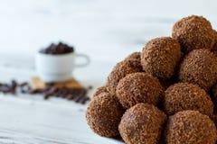 Малые десерты с мякишами Стоковая Фотография RF