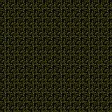 Малые желтые фейерверки на черной предпосылке Стоковая Фотография