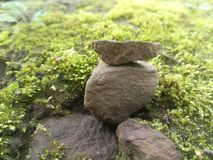 Малые каменные обои Стоковое Изображение