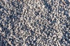 Малые камни на строительной площадке стоковая фотография rf