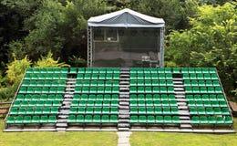 Малые места арены празднества Стоковая Фотография