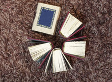 Малые мини книги Стоковые Фото